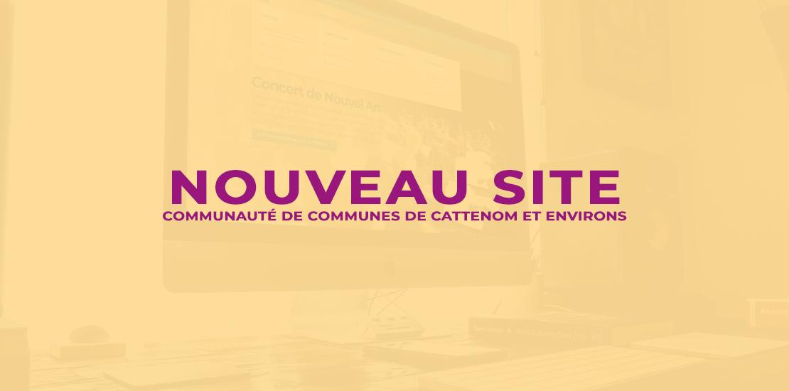 Bannière Nouveau site Internet